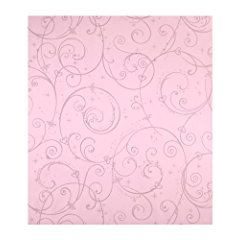 York Wallcoverings Disney Kids DK5967 Perfect Princess Scroll Wallpaper Pink with Glitter