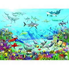 Uk Walltastic Childrens Wallpaper Mural Sea Adventure