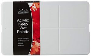 Acrylic Keep-Wet Palette by Frisk
